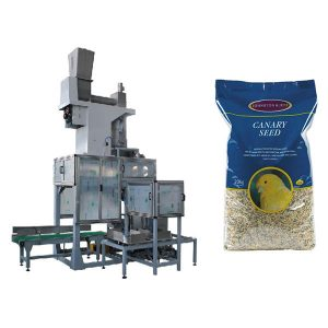20kg Saad Oop Mond Bagging & Bag Vul Scales Automatic Grain Big Bags Packing Machine
