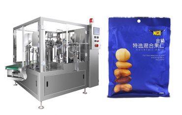 voorgemaakte sak kos granule vul verseëling verpakking masjien