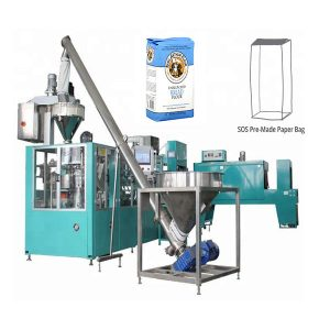 Outomatiese Pre-made Paper Bag Packing Machine