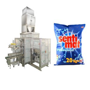 Outomatiese Premade Big Bag Packing Machine Reinigingsmiddel Poeier Oop-mond Bagger