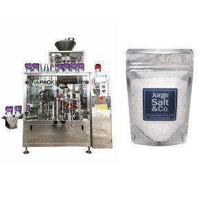 Outomatiese Rotary Premade Bag Packing Machine vir Salt