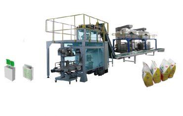 sak in sak produksie verpakking lyn