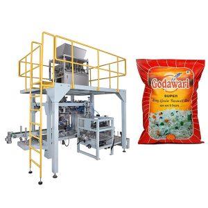 Groot Sak Granulêre Swaar Sak Verpakking Machine Van Rys Vir 10kg-50