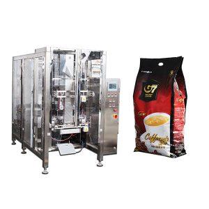 Koffie Quad-sak Vorm-seëlverpakkingsmasjien