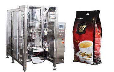koffie vierkante vorm vul seël verpakking masjien