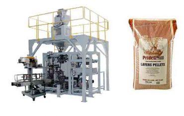 voer graan granule swaar sak verpakking masjien