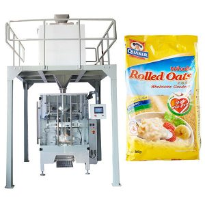 Lineêre Weeg Outomatiese Oatmeel Packing Machine