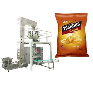 Aartappel Chips Packing Machine