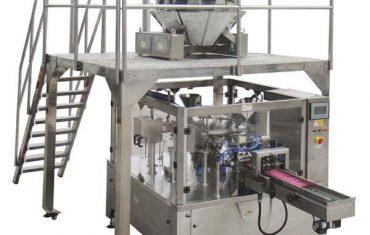 roterende outomatiese rits sak vul seël verpakking masjien vir saad neute
