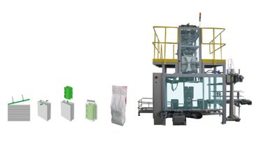 sekondêre verpakking sak polywoven sak verpakking masjien