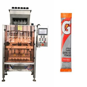 Small Sachets Powde Multi-Line Packing Machine