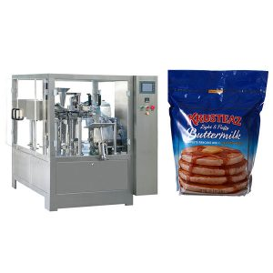 Stand-Up Rits Premade Pouch Packing Machine