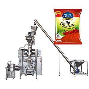 VFFS Bagger Packing Machine met Auger Filler vir Paprika en Chilli Food poeier