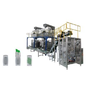 Vertikale verpakking masjien Sekondêre verpakking lyn