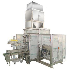 ZTCK-25 outomatiese sakvoeding verpakking masjien, geweefde sak verpakking masjien
